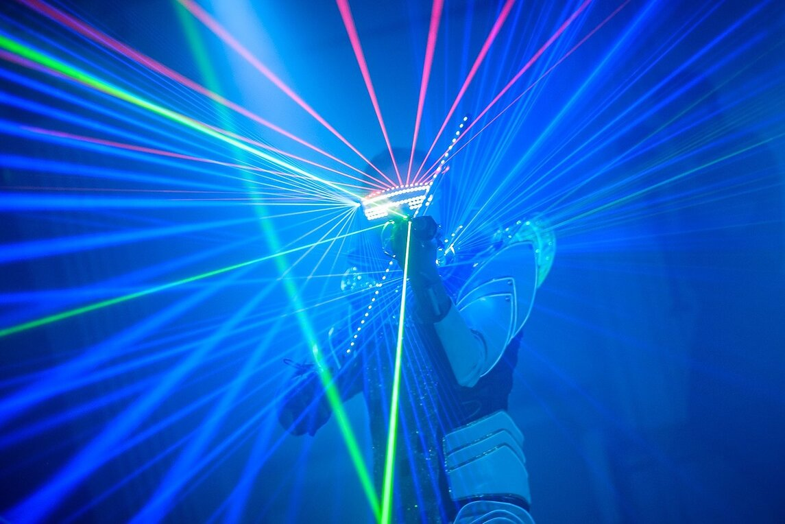 Лазерный скрипач