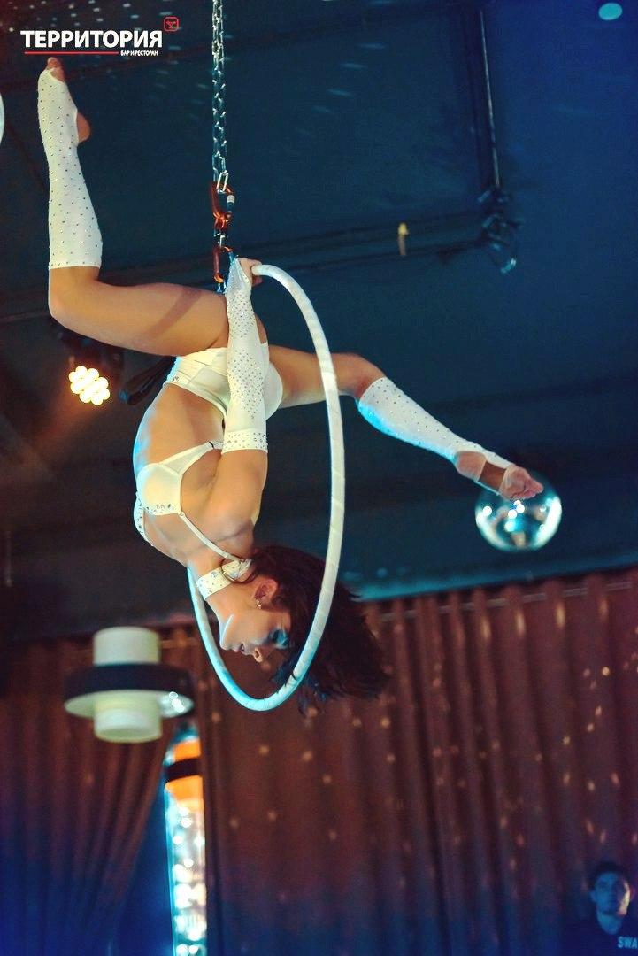 Акробатика на кольце