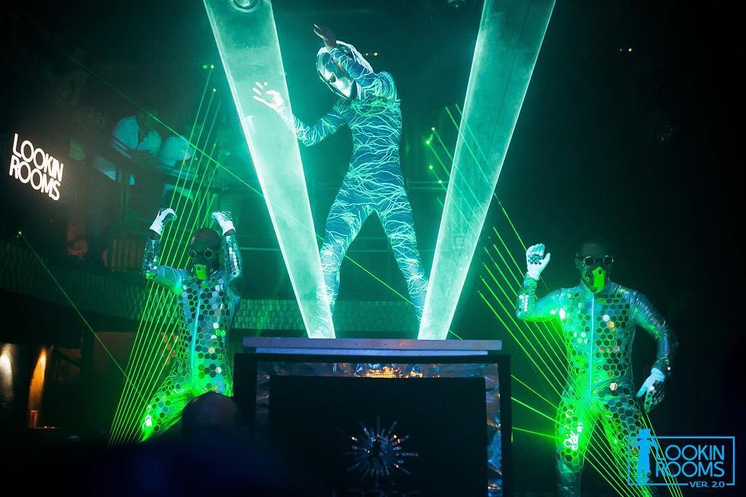 лазер мен шоу